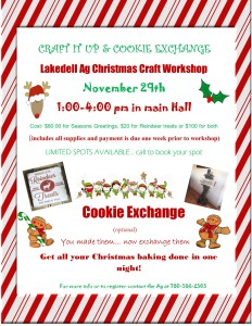 Craft and Cookie Flyer 1